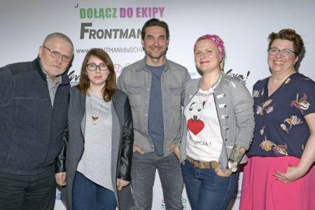 Akcja FRONTMANI dla SCHRONISK z Marcinem Dorocińskim rusza wiosną