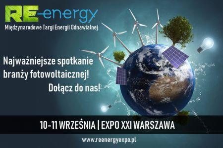 Targi Re-Energy już za niespełna 2 tygodnie!