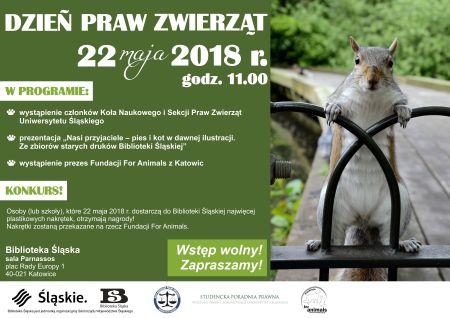 Dzień Praw Zwierząt w Bibliotece Śląskiej