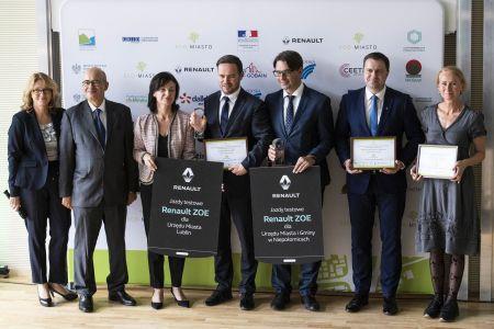 ECO MIASTO 2018 nagrodzeni i wyróżnieni w kategorii mobilność zrównoważona