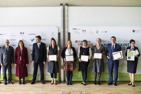 ECO MIASTO 2018 nagrodzeni i wyróżnieni w kategorii zieleń miejska a jakość powietrza