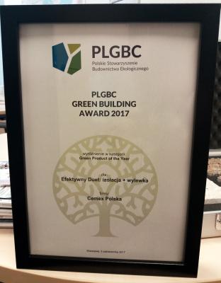 PLBC Green Building Award CEMEX