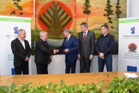 Unijne wsparcie na odbudowę parku miejskiego w Rykach