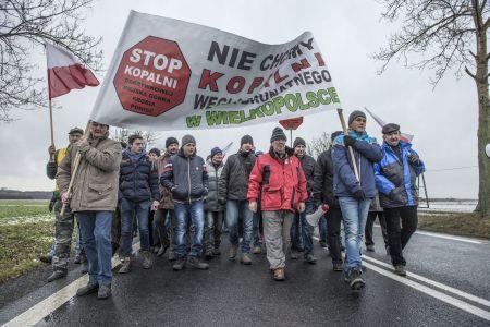 mieszkancy Wielkopolski protestuja