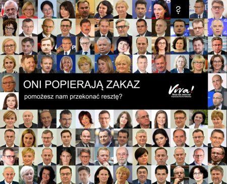 Zakaz zagrożony, prezes Kaczyński niepocieszony
